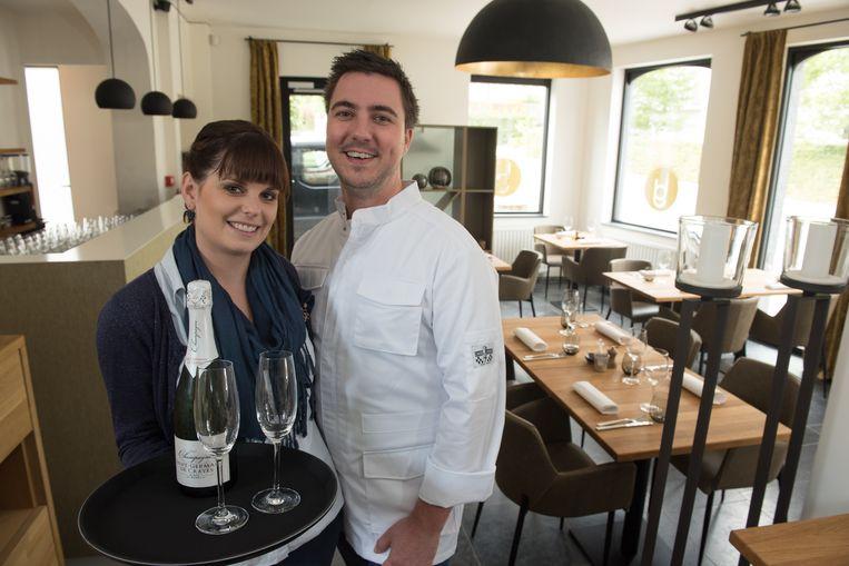 Eén van de nieuwkomers: Brasserie Juste in Dikkelvenne bij Wendy Hoefman en Tom De Poortere.