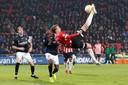 De omhaal van Luuk de Jong tegen sc Heerenveen eerder dit seizoen.