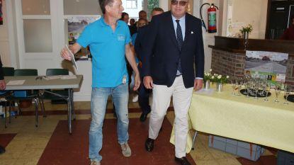 Prins Laurent bezoekt en steunt actiecomité N41