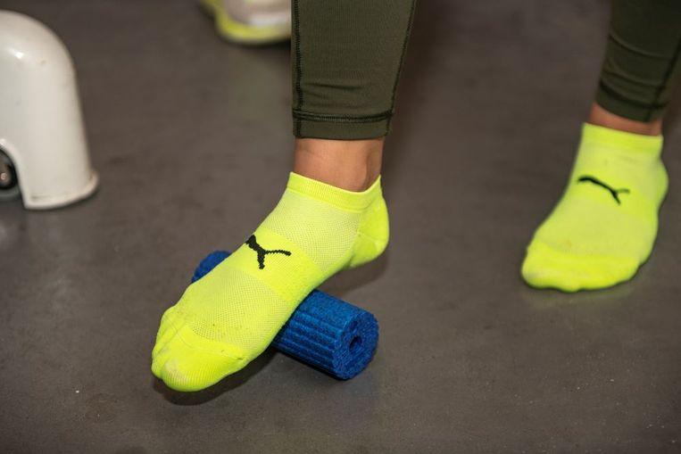 Foam rollers kunnen echt helpen om blessureleed te voorkomen