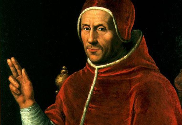 Voor de Nederlandse paus Adrianus VI is het een uitgemaakte zaak: Luther verspreidt ketterse teksten.  Beeld Jan van Scorel