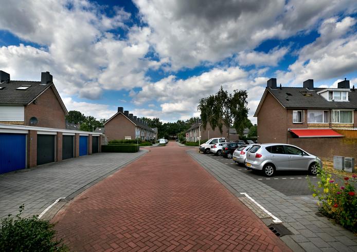 Kemper straat in de Houtenhoek Deurne