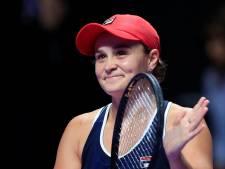 Barty verkozen tot beste tennisster van het jaar