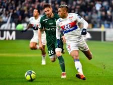 Lyon geeft in slotminuut zege uit handen tegen rivaal