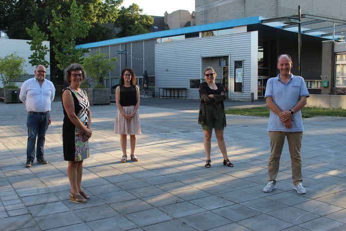 De ploeg achter het coronaseizoen van CC De Herbakker in Eeklo.