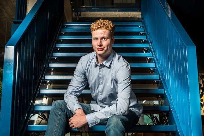 Guido Tijman is jongste deelnemer aan Twents Buutfestival in Oldenzaal