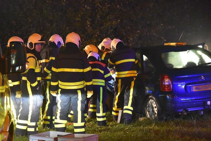 Zwaargewonde bij ongeluk in Werkendam.