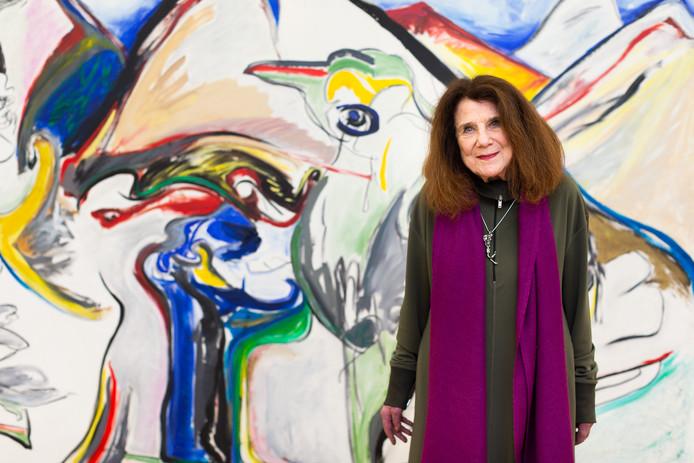 Grote overzichtstentoonstelling oud-hengelose kunstenares Jacqueline de Jong in het Stedelijk Museum.