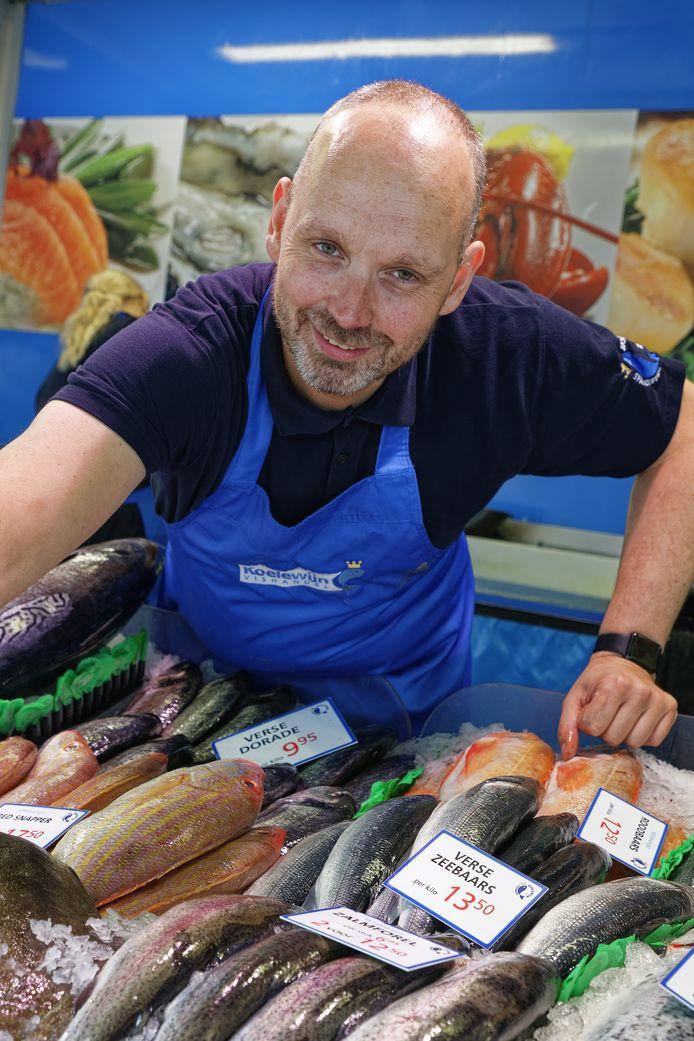 Hugo Koelewijn: fulltime in de vis.