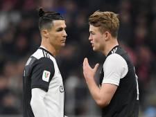 'Negatieve' Cristiano Ronaldo terug in Juve-selectie, De Ligt moet wachten op rentree