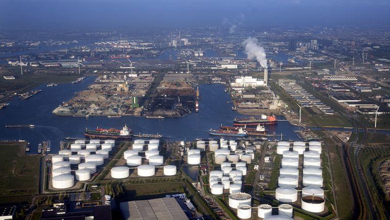 De haven van Amsterdam Beeld ANP