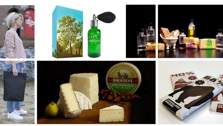 Het keurmerk wordt uitgereikt aan kwalitatief hoogwaardige producten die creatief, innovatief en duurzaam zijn Beeld Amsterdam Made