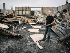 Vier jaar hard werken in as gelegd door een (mogelijk aangestoken) brandje in De Meern