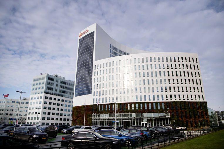 Het hoofdkantoor van energiebedrijf Eneco in Rotterdam.
