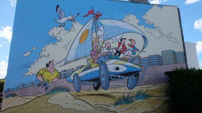 Kleinzoon Willy Vandersteen huldigt vijfde stripmuur in