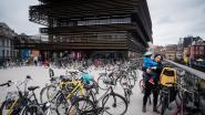 Overal fietsen aan Krook... behalve in ondergrondse parking