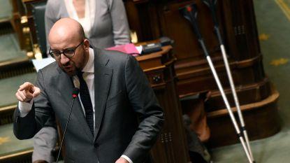 """Premier Michel ontmijnt F-16-discussie voorlopig: """"Eerst alle informatie verzamelen"""""""