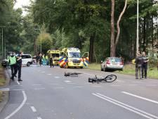 Fietsster zwaargewond bij aanrijding tussen Nunspeet en Elspeet