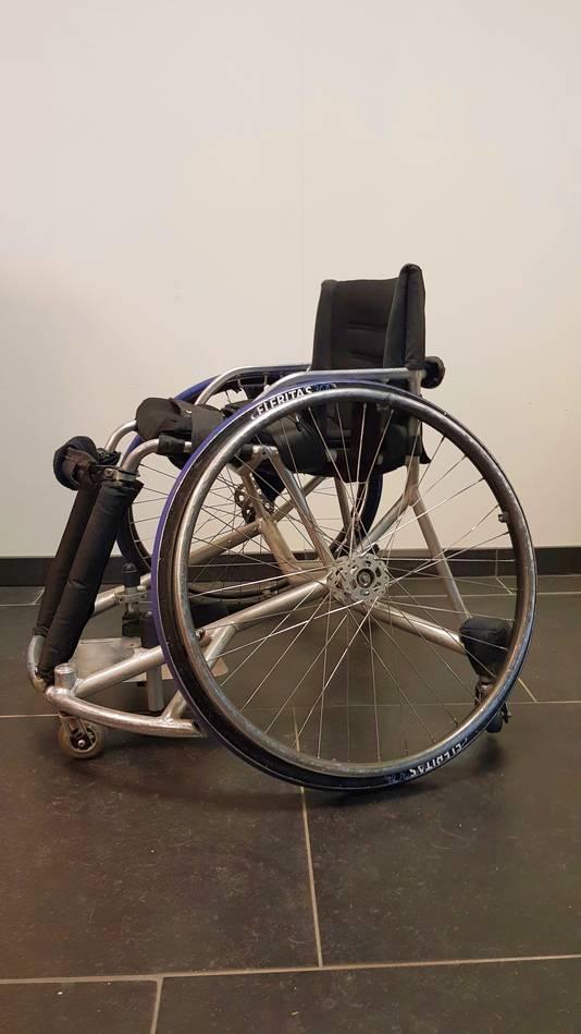 Eigen foto Ilse Arts Rolstoelbasketbal rolstoel rubriek Het Materiaal