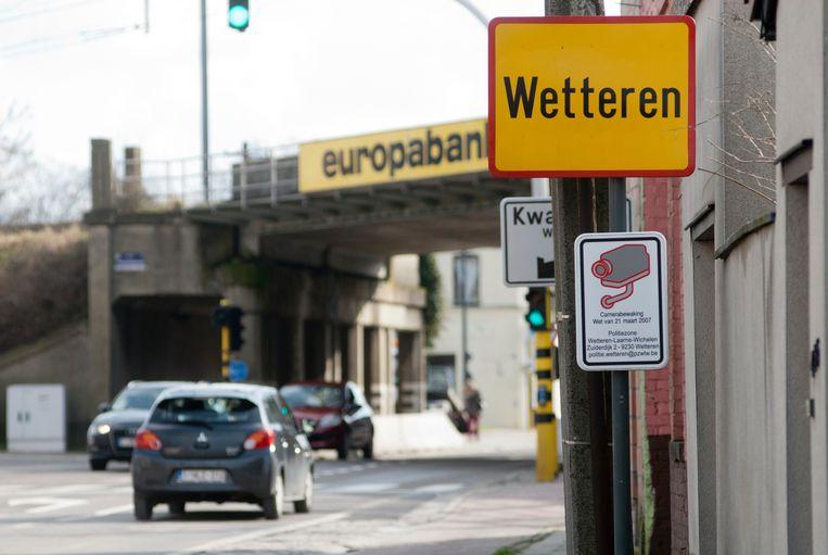 Een cameraschild registreert alle wagens in de politiezone Wetteren, Laarne en Wichelen.