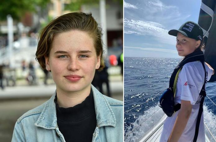 Anuna De Wever va suivre l'exemple de Greta Thunberg en traversant l'Atlantique à bord d'un voilier.