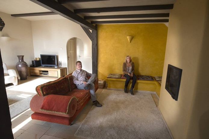 Rosa van't Westeinde en haar man Peter bij de Finoven.