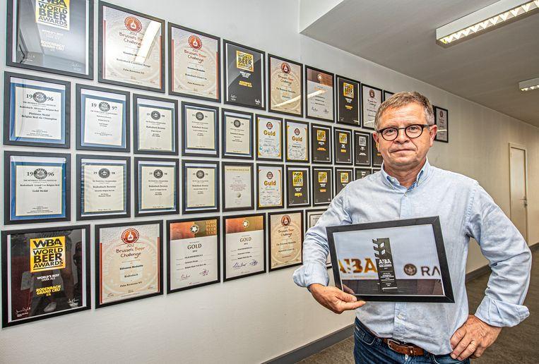 De 'Wall of Fame' van Brouwerij Rodenbach blijft maar groeien.