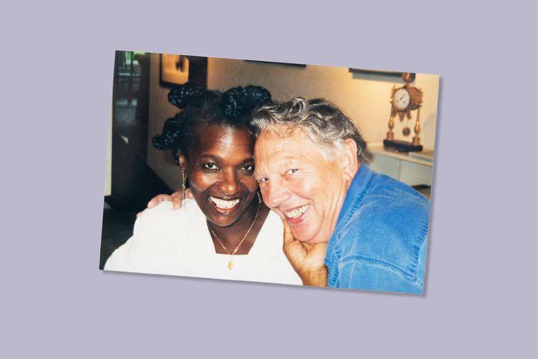 Gerda met Roelof. Beeld Prive archief Gerda Havertong