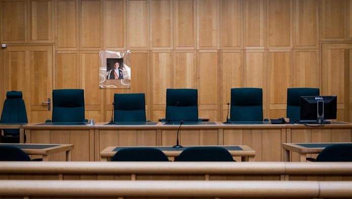 De rechtszaal in Breda.
