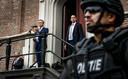 Foto ter illustratie, Burgemeester Jos Wienen van Haarlem tijdens een toespraak. Hij wordt al geruime tijd beveiligd omdat hij wordt bedreigd.