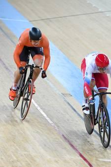 Lavreysen pakt goud op sprint in Manchester