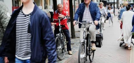 Almeloërs sportief? Helft inwoners komt op fiets naar binnenstad
