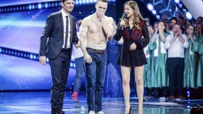 Gilles Thiry is de grote winnaar in eerste studioshow 'Belgium's Got Talent'