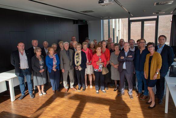 75-jarigen vieren samen feest in Wichelen.