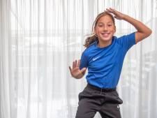 Zwolse Nisa danst naar goud: 'Als de muziek aan gaat zijn alle zenuwen weg'