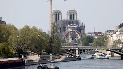 Macron bevestigt intentie om kathedraal van Notre-Dame in vijf jaar weer op te bouwen