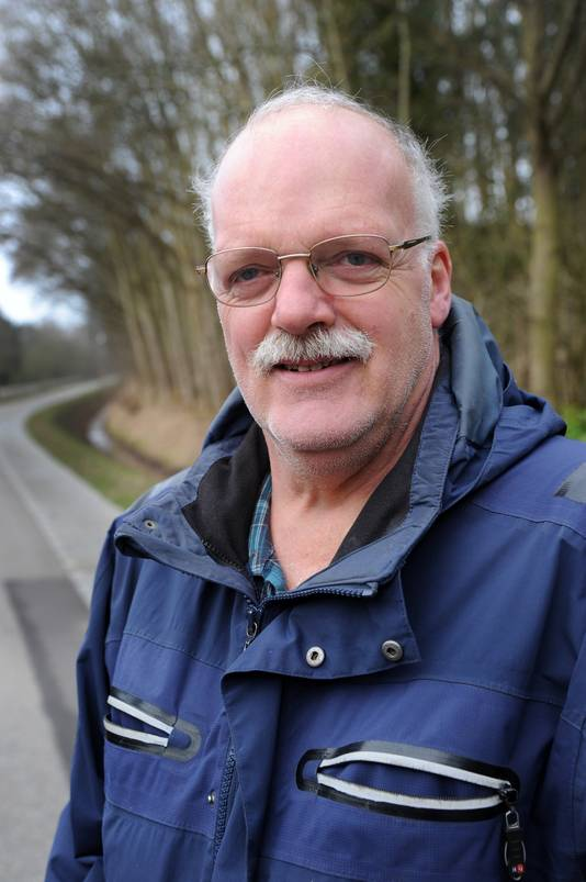 Paddenstoelenspecialist Henk Remijn.