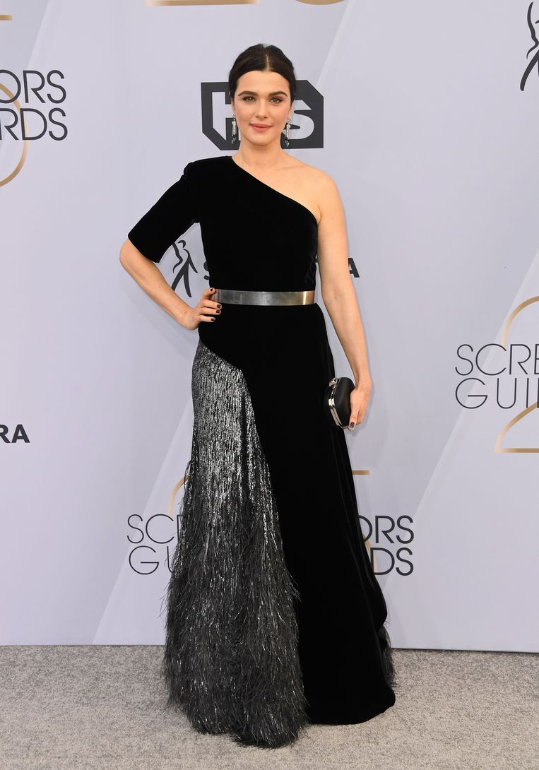 Rachel Weisz in Givenchy Haute Couture.  Jewels are from Cartier.