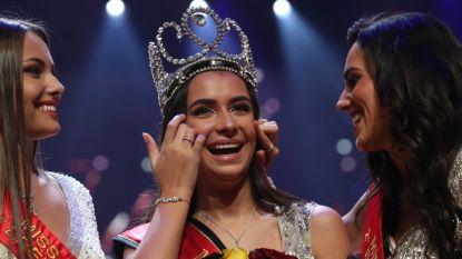 """Elena Castro Suarez is Miss België 2019: """"Mijn studies zet ik nu even aan de kant"""""""