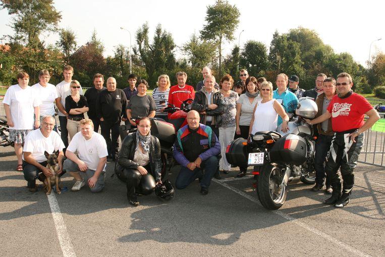 Een foto uit ons archief van een eerdere editie van het motortreffen.