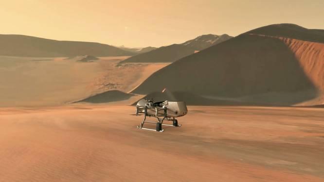 NASA kondigt missie naar Saturnusmaan Titan aan
