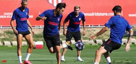 Twee positieve tests bij Atlético Madrid