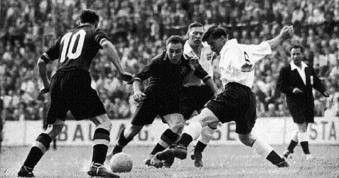 Rik Coppens schitterde onder meer in de legendarische WK-match tegen Engeland in 1954.