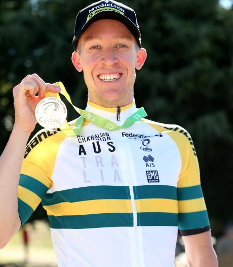 Cameron Meyer na 12 jaar eindelijk kampioen van Australië op de weg