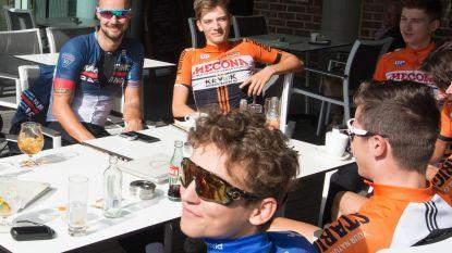 Tom Boonen doet jarige Thibeau (17) fietstocht cadeau