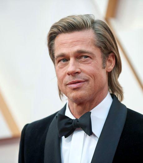 Brad Pitt staat voor het eerst model voor eigen wijnmerk