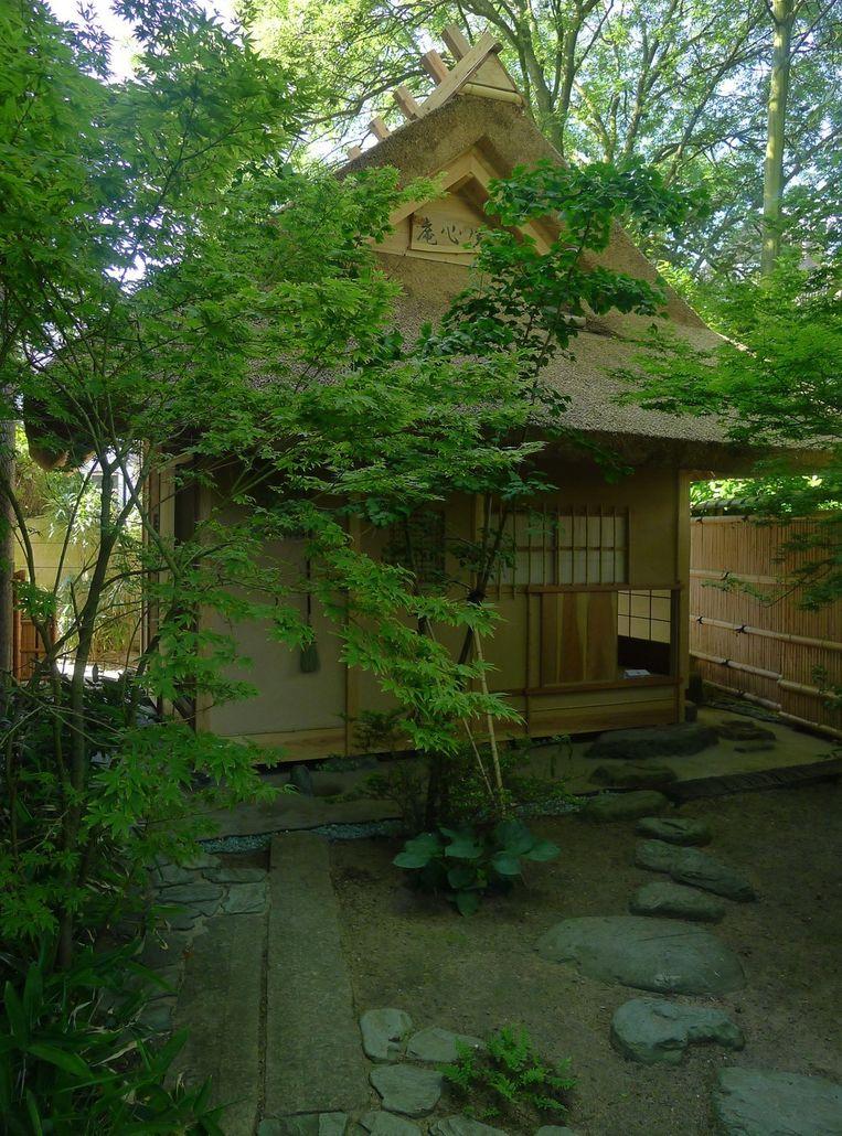 Het theehuis van Japans cultureel centrum Shofukan, in Rotterdam. Beeld anp