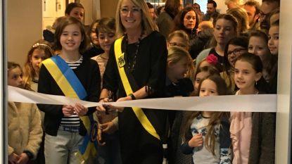 Kinderen tekenacademie openen expo