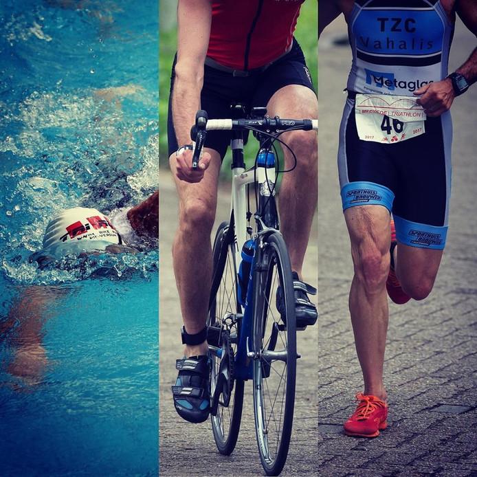 De Merwede Triathlon in Gorinchem.