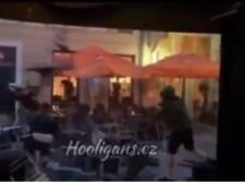 Les images impressionnantes d'une bagarre entre hooligans à Bratislava, 80 personnes arrêtées